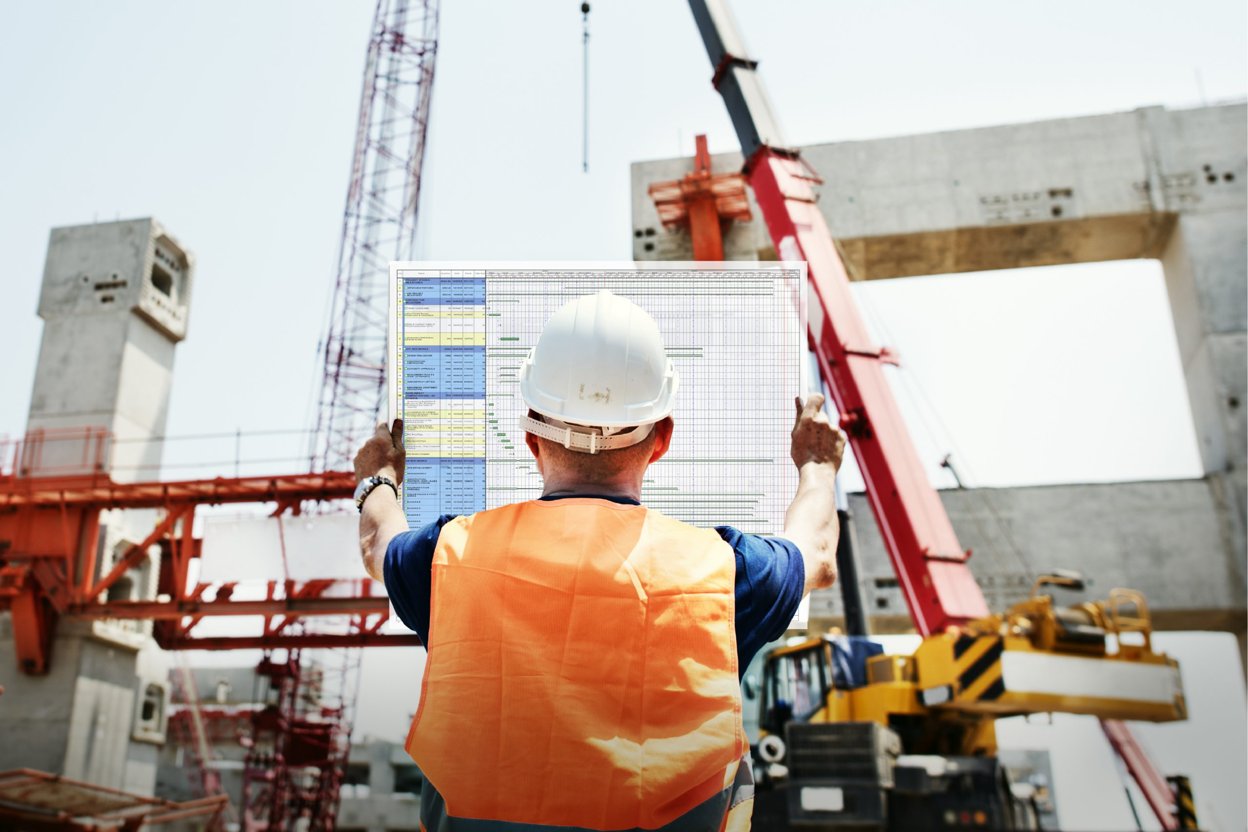 Solid Support construction scheduling